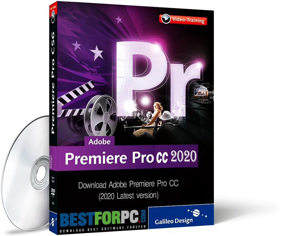 Adobe Premiere Pro CC 2020 Box
