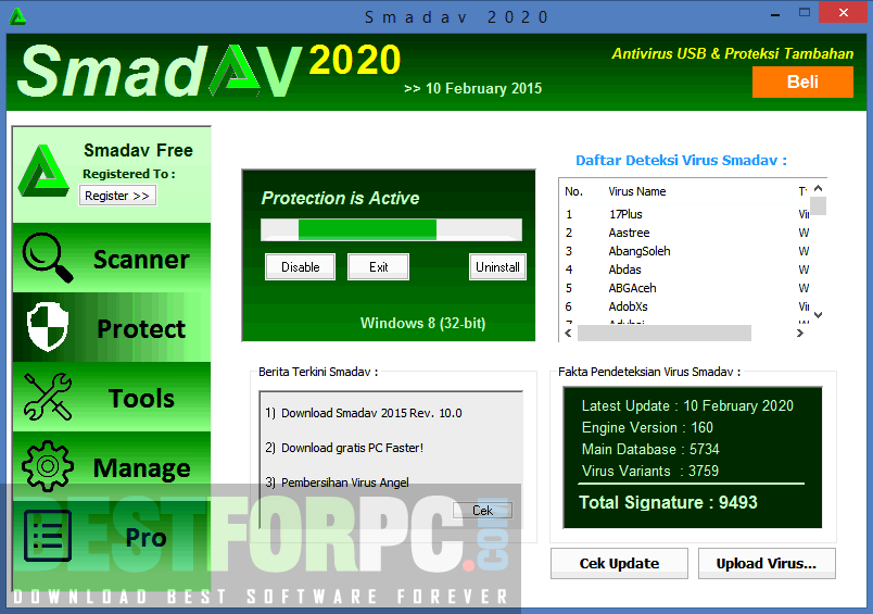 Smadav Pro 2020 Latest Version Free Download – BEST FOR PC