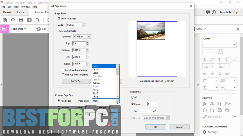 Adobe Acrobat Pro DC Portable Screenshot