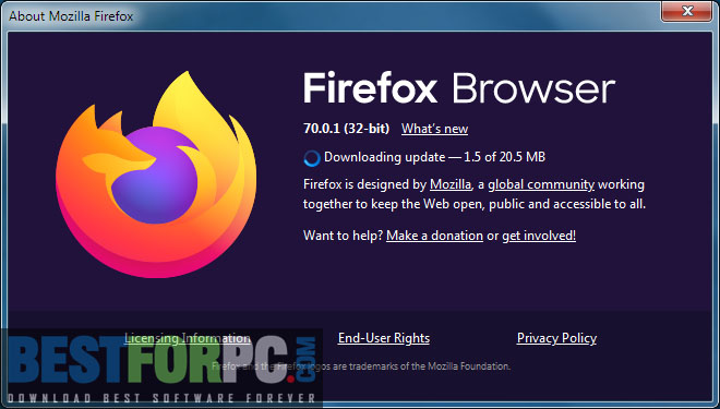 Mozilla Firefox Logo Box icon Png Screenshot