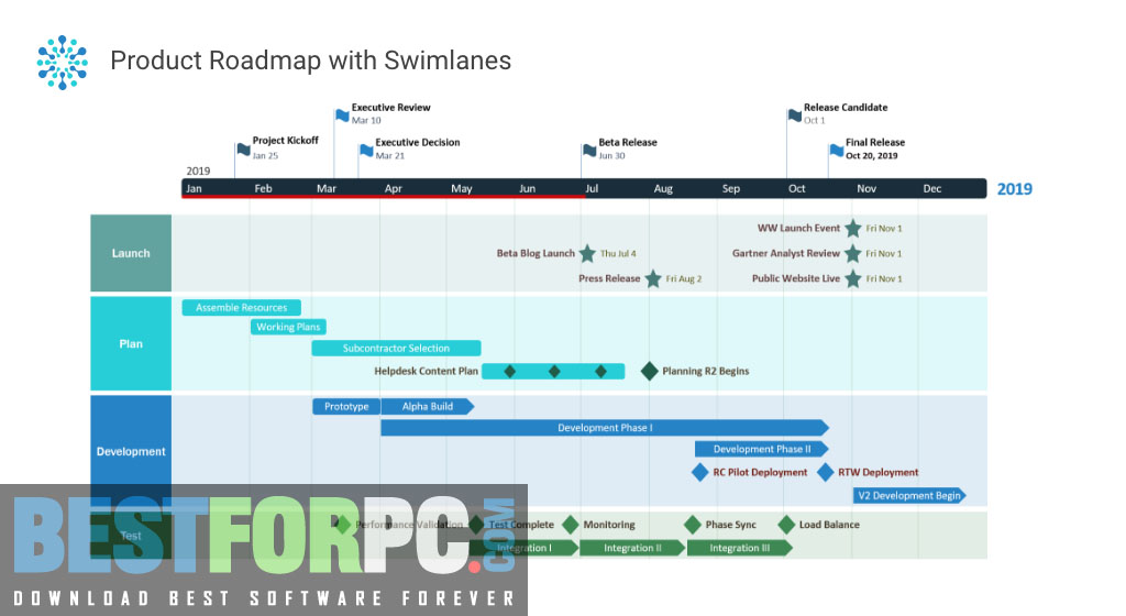 Office Timeline Pro Edition Screenshot
