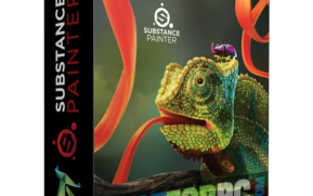 Substance Painter 2020; Substance Painter screenshot; Substance Painter logo; Substance Painter box;