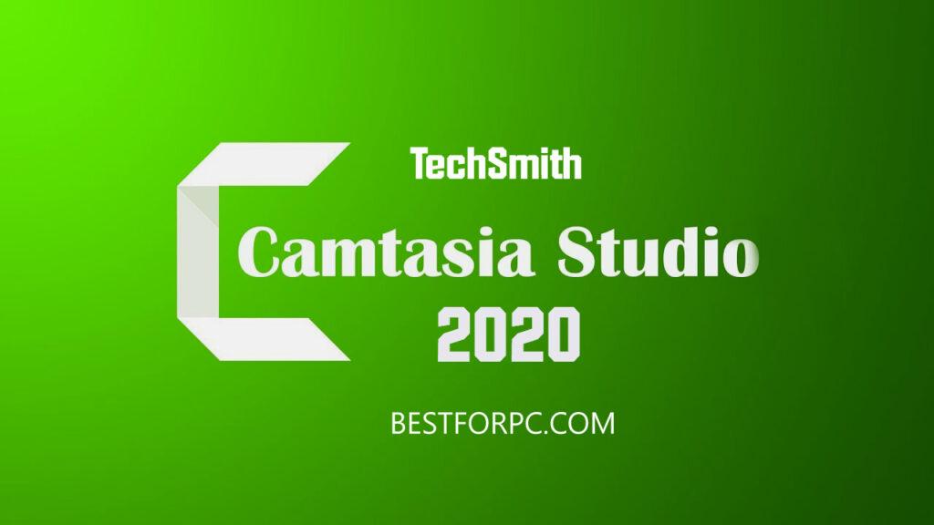 Camtasia box logo banner