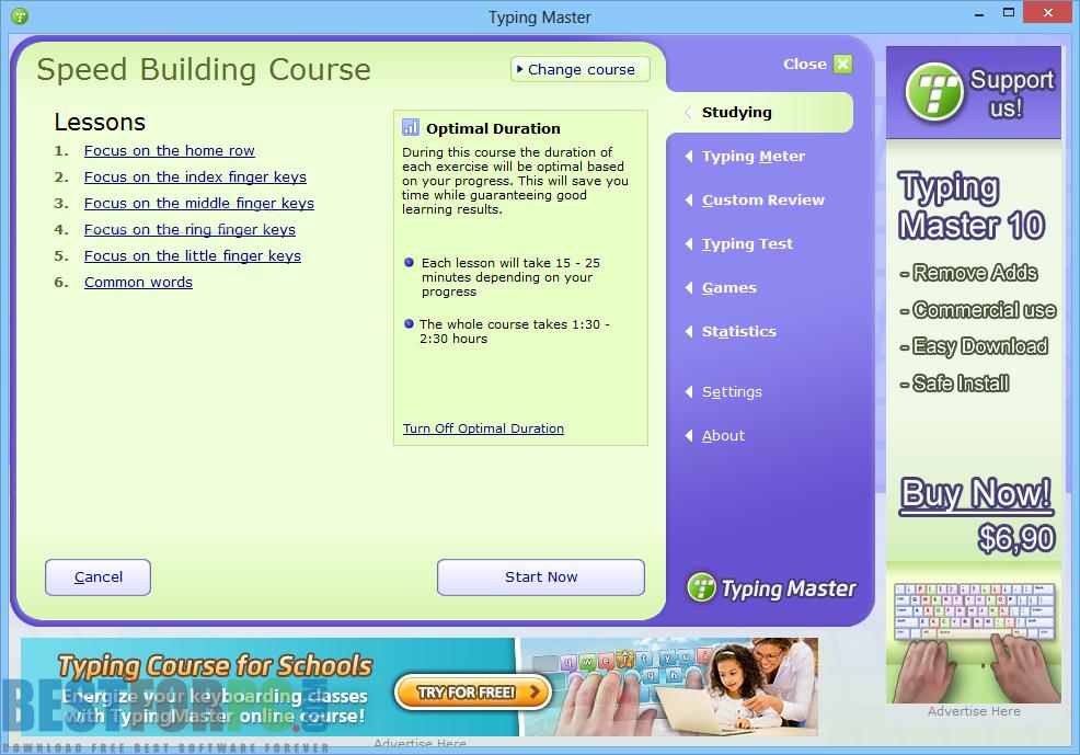 TypingMaster Screenshot