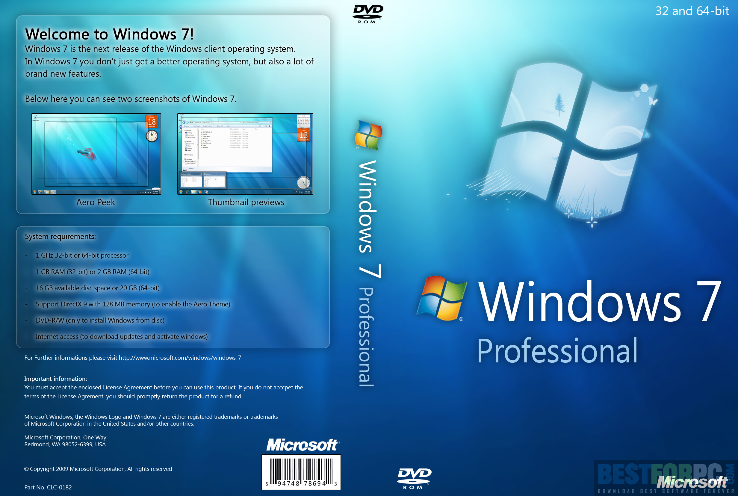 Windows 7 All in One ISO 32-Bit and 64-Bit Free Download – BEST FOR PC