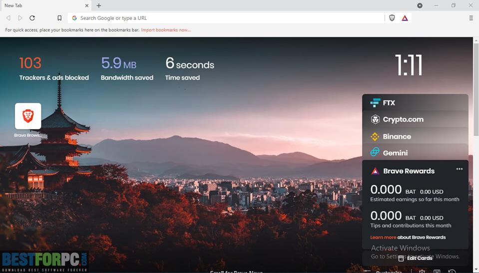 Brave Browser Free