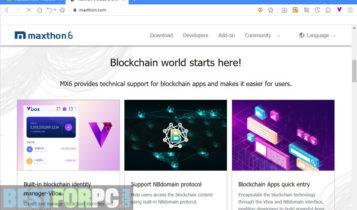 Maxthon Web Browser Screenshot